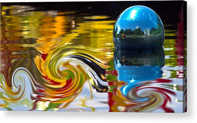 Water Acrylic Print featuring the photograph Whirlpool by Elizabeth Hart
