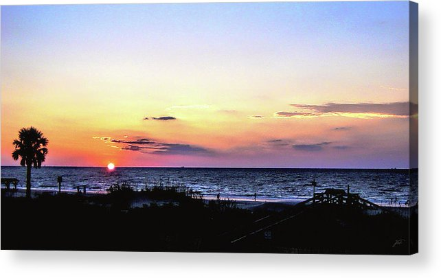 Tybee Acrylic Print featuring the photograph East Coast Sunrise by Thomas Fields
