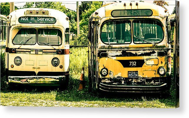 Not In Service Acrylic Print featuring the photograph Not In Service by Karl Anderson