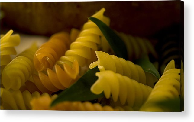 Pasta Acrylic Print featuring the photograph Pasta by Jessica Wakefield