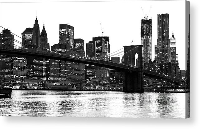 Usa Acrylic Print featuring the photograph Manhattan 1 by Luciano Mortula