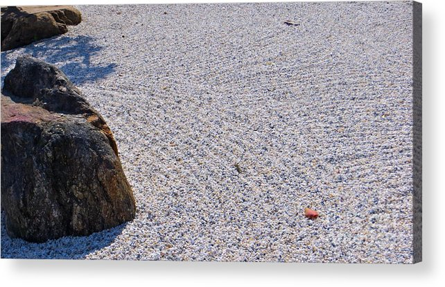 Japanese Style Gardens Acrylic Print featuring the photograph Timeless Zen by Joy Hardee
