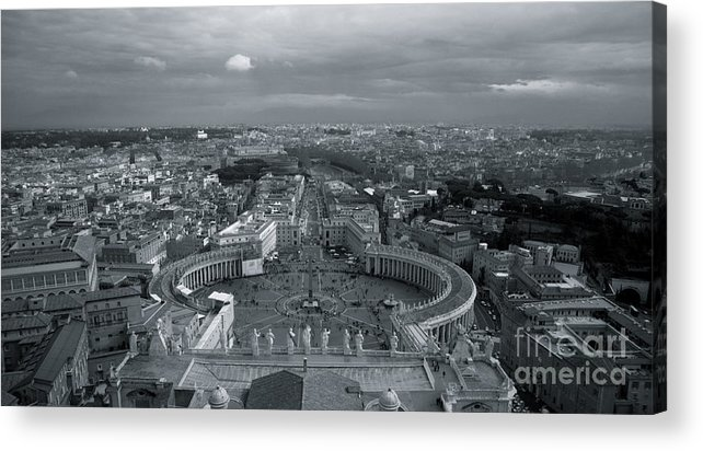 Rome Acrylic Print featuring the photograph Vatican City by Louise Fahy