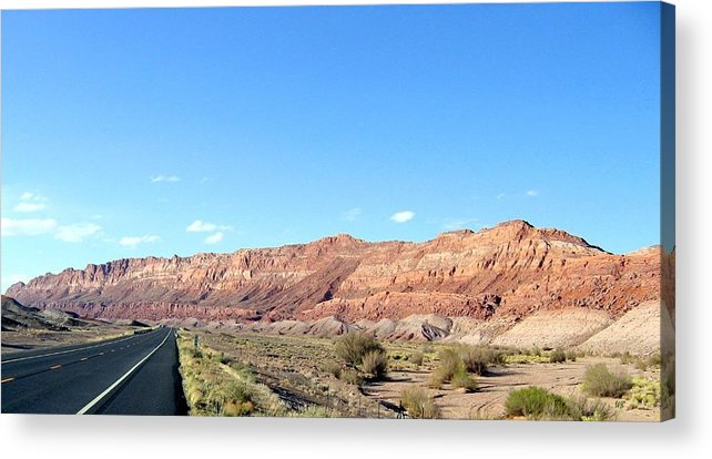Arizona Acrylic Print featuring the photograph Arizona 17 by Will Borden
