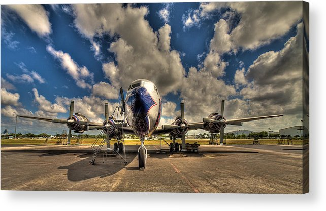 Aircraft Acrylic Print featuring the photograph Blue Yonder by William Wetmore