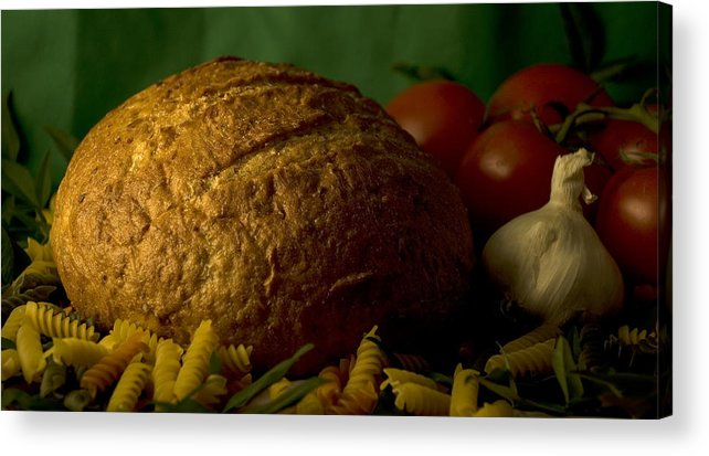Food Acrylic Print featuring the photograph Ingredients by Jessica Wakefield