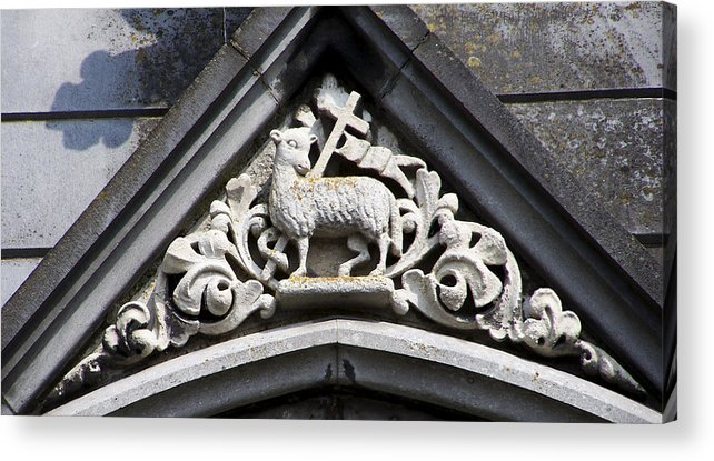 Ireland Acrylic Print featuring the photograph Lamb Of God by Teresa Mucha