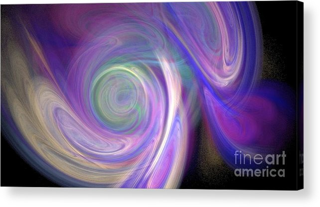 Mixed Media Acrylic Print featuring the photograph Opalescence by D Nigon