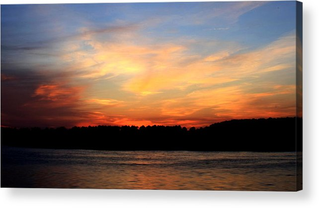 Landscape Acrylic Print featuring the photograph Another Great Day Ends by Charles Shedd