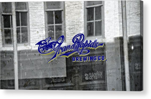 Grand Rapids Brewing Co Acrylic Print featuring the photograph Grand Rapids Brewing by Dan Sproul