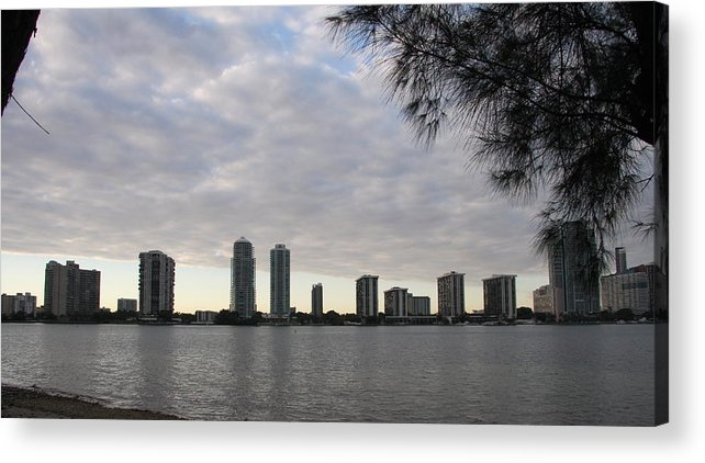 Skyline Acrylic Print featuring the photograph In The Eveninglight by Christiane Schulze Art And Photography