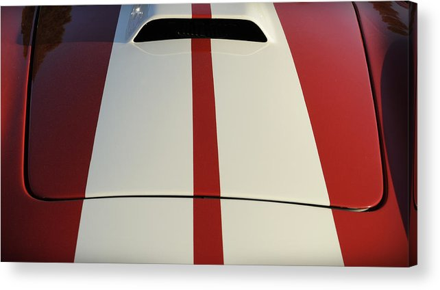 Cobra Acrylic Print featuring the photograph Roadster by Luke Moore