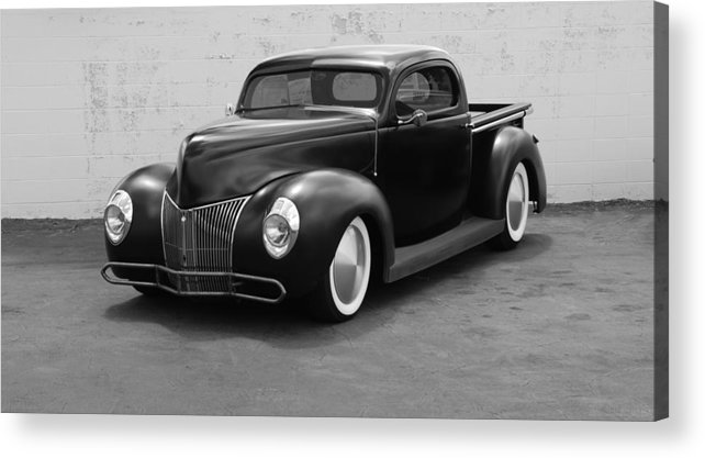 Hot Rod Acrylic Print featuring the photograph Hot Rod Pick Up by Rob Hans