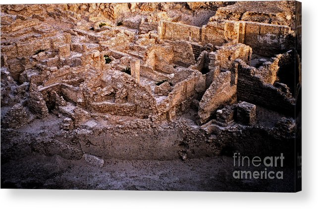 First Star Art Acrylic Print featuring the photograph Seven Civilizations by First Star Art