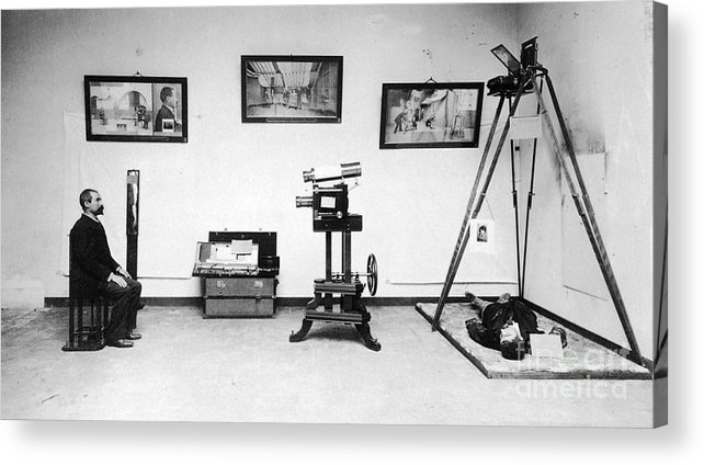 Science Acrylic Print featuring the photograph Surveillance Equipment, 19th Century by Science Source
