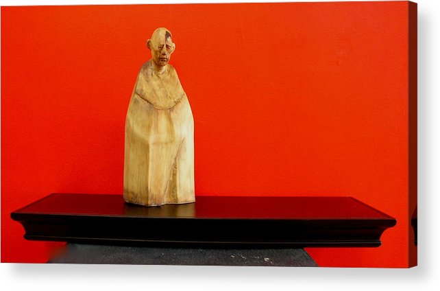 Figure Acrylic Print featuring the sculpture Untitle by Victor Amor