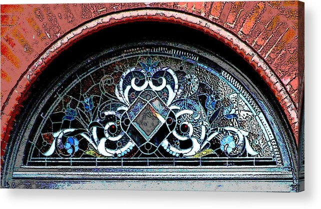 Windows Acrylic Print featuring the photograph Window Series by Ginger Geftakys