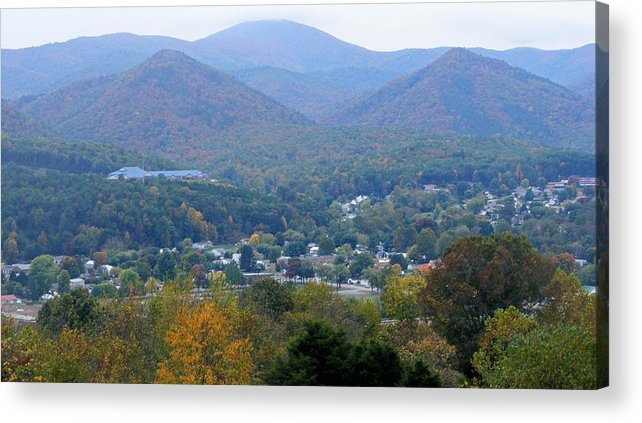 Fall Acrylic Print featuring the photograph Buena Vista In The Fall by Eddie Armstrong