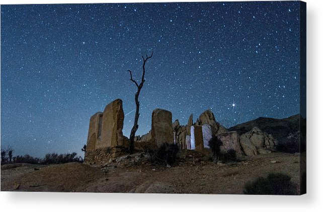Meteor Acrylic Print featuring the photograph Make A Wish by Marilyn McFarlin