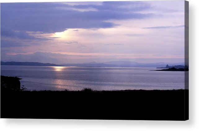 Landscape Acrylic Print featuring the photograph Sunrise Over The Mainland by Mary Lane