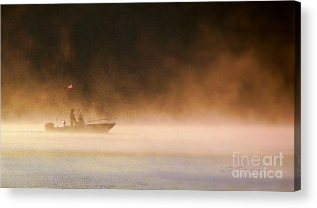 Acrylic Print featuring the photograph The Early Bird Get's The Fish by Patricia L Davidson