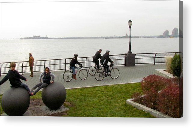 Ny Acrylic Print featuring the photograph After Hurricane Sandy by Randi Shenkman