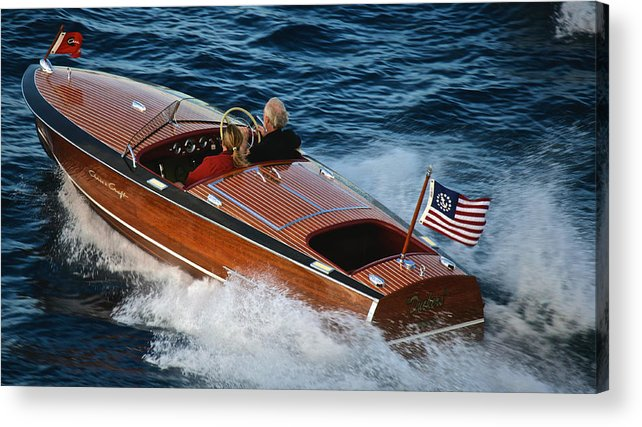 Riva Acrylic Print featuring the photograph Pristine by Steven Lapkin