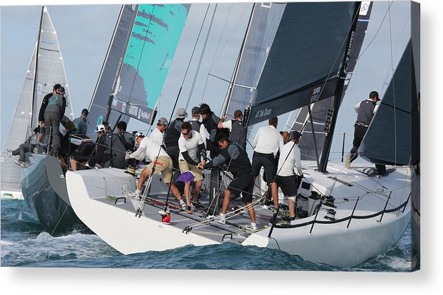 300 Acrylic Print featuring the photograph Key West Action by Steven Lapkin