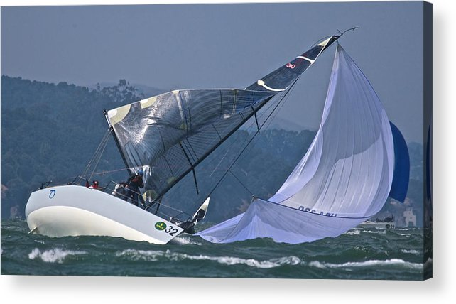 San Francisco Acrylic Print featuring the photograph Bay Blowout by Steven Lapkin