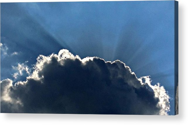 Acrylic Print featuring the photograph Beam Me Up by Joel Rams
