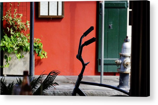 Bicycle Acrylic Print featuring the photograph Before The Ride Home by Paul Wilford