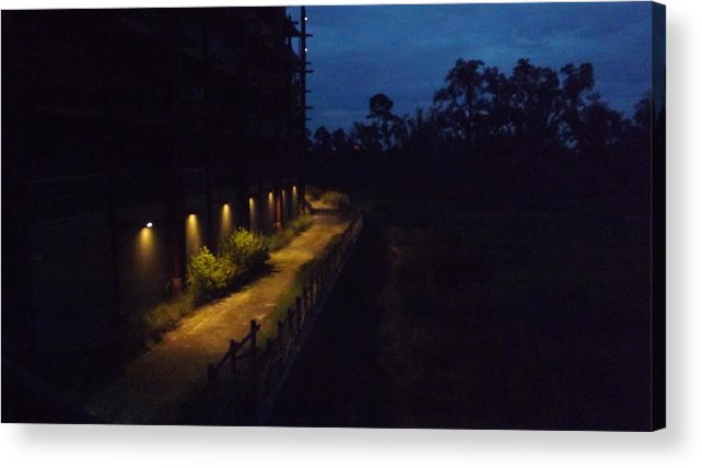 Landscape Acrylic Print featuring the photograph Early Morning by Kevin Sweeney