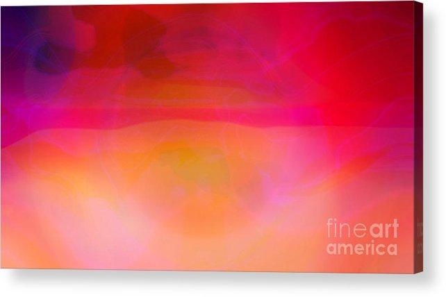 Desert Canvas Prints Acrylic Print featuring the digital art Heat by Pauli Hyvonen