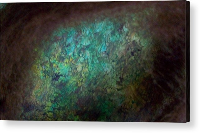 Ocean Acrylic Print featuring the photograph Mysterious Portal by Sharon Ackley
