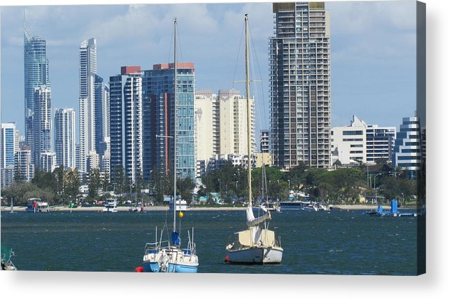 Queensland Acrylic Print featuring the photograph Queensland Australia by Joyce Woodhouse