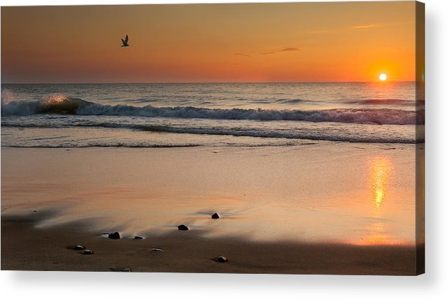 Cape Cod National Seashore Acrylic Print featuring the photograph Rising Sun by Bill Wakeley