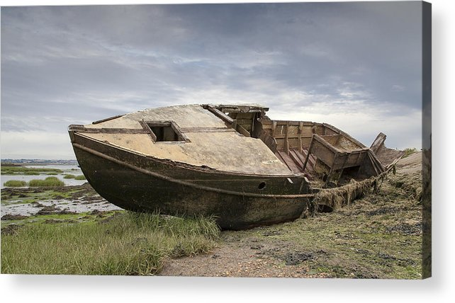 Rotting Acrylic Print featuring the photograph Ship Shape by Nigel Jones
