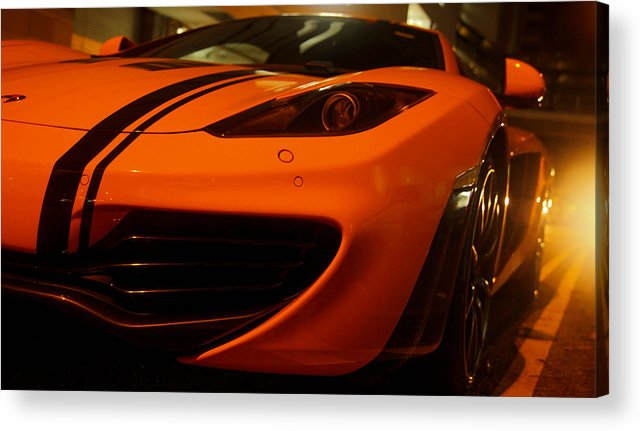 Car Acrylic Print featuring the photograph Sports Car by Antti Muranen