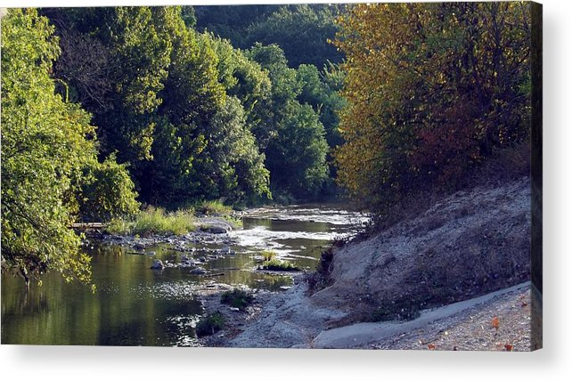 Water Acrylic Print featuring the photograph Texas 1 by Joyce Wasser