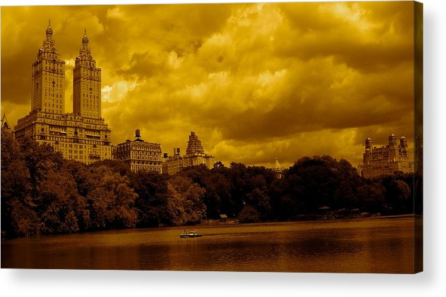 Iphone Cover Cases Acrylic Print featuring the photograph Upper West Side And Central Park by Monique's Fine Art