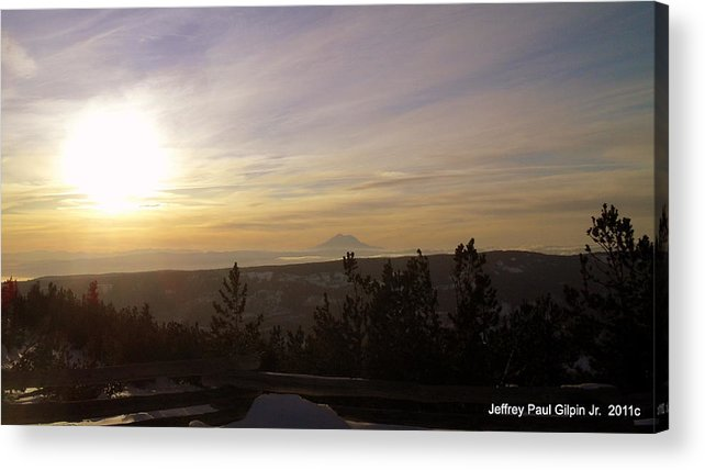 Acrylic Print featuring the photograph 12.10.2011 by Jeffrey Gilpin