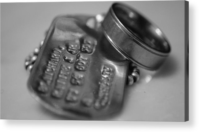 Father's Day Acrylic Print featuring the photograph I Miss You Dad by John Blanchard