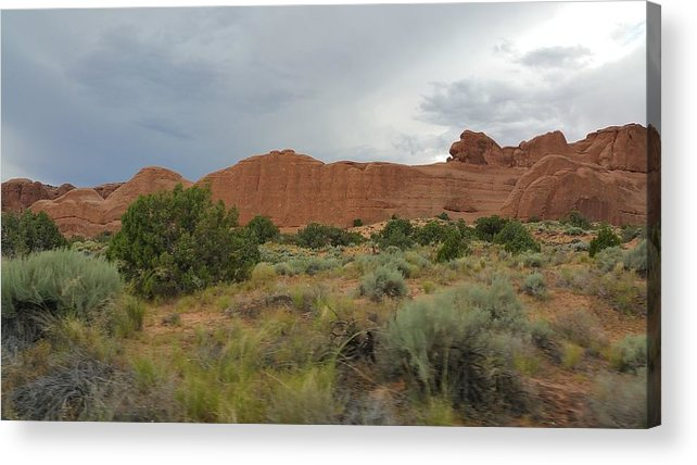 Utah Acrylic Print featuring the photograph Utah Scenery by Hughes Country Roads Photography