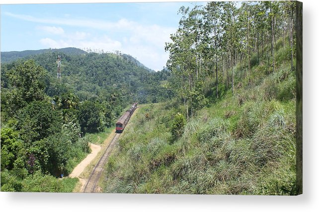 Landscape Acrylic Print featuring the photograph Demodara Loop by Mohan