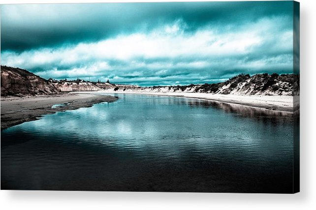 Stream Acrylic Print featuring the photograph Water by FL collection