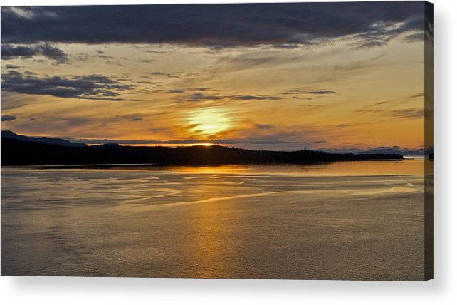 Alaska Acrylic Print featuring the photograph Alaskan Sunset by Robert Joseph