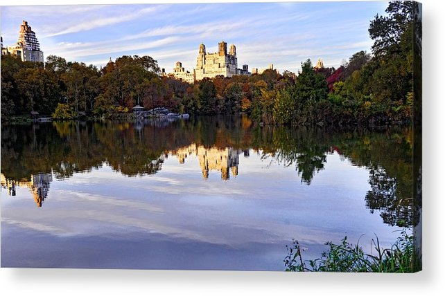 New York Acrylic Print featuring the photograph New York Central Park by Jim Archer