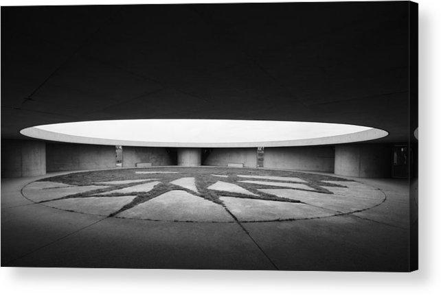 Architecture Acrylic Print featuring the photograph Enclosure by Deividas Kavoliunas