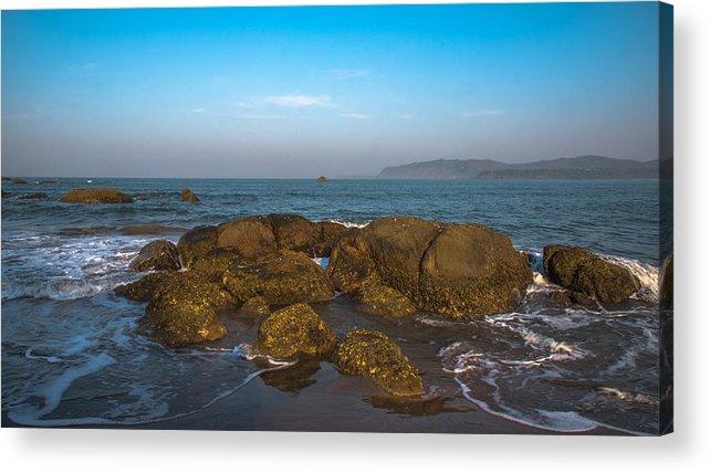 Beautiful Acrylic Print featuring the photograph Floating Rocks by Anupam Gupta