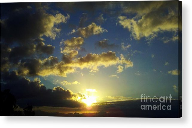 Sunrise Acrylic Print featuring the photograph Gift by Tracy Evans